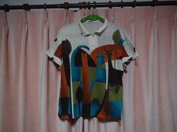プレジールのポロシャツ(フリーサイズ)レディース!。