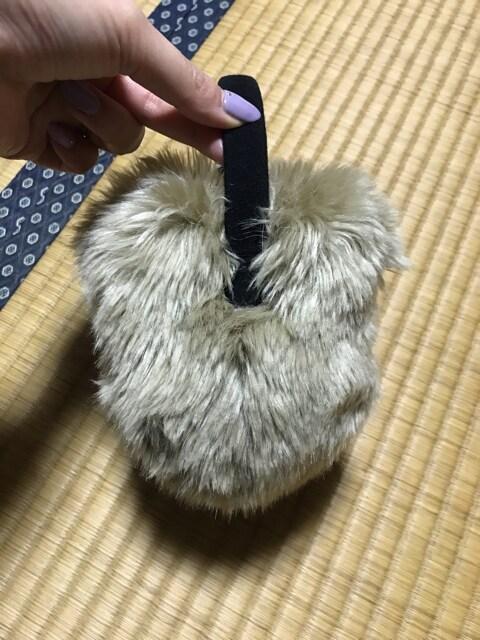 美品 東京ディズニーランド購入 ミッキー  イヤーマフ マフラー < 女性ファッションの