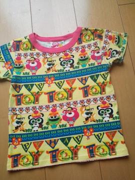 中古シークレットTシャツ110黄JAM