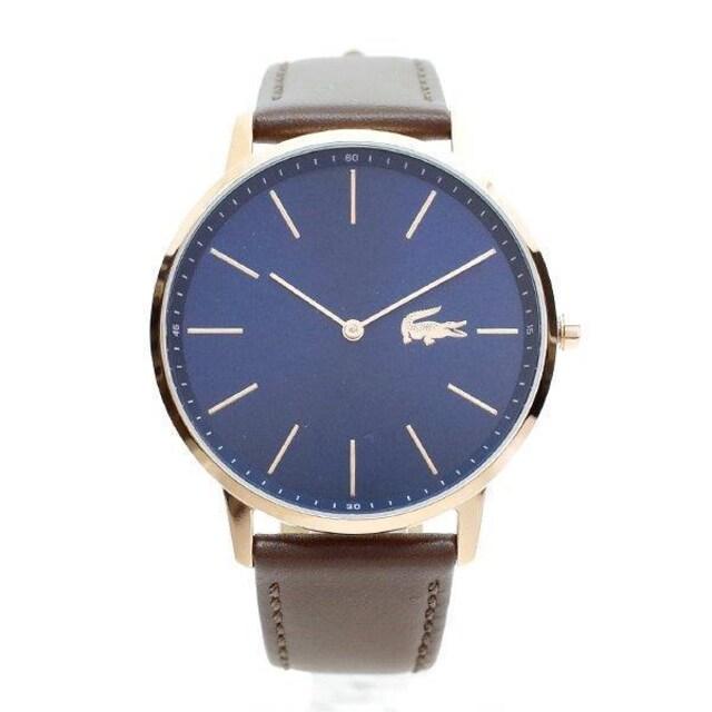 新品 即買い■ラコステ LACOSTE 腕時計 メンズ 2011018 ネイビー < ブランドの