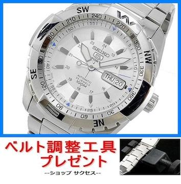 新品 即買///セイコー 自動巻 腕時計 SNZJ03J1★ベルト調整具付