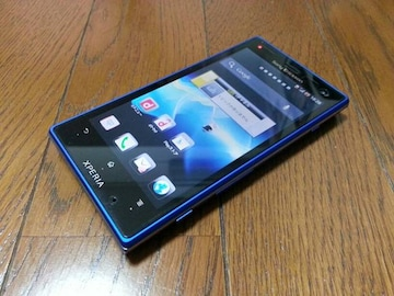 特価品!!超美品 SO-03D Xperia acro HD アクア ブルー