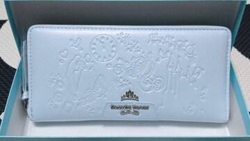 完売◆新品◆サマンサタバサプチチョイス◆シンデレラ◆ラウンド長財布◆ライトブルー
