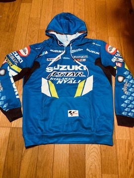 バイク パーカー suzuki GSX-R motoGP Lサイズ リンス