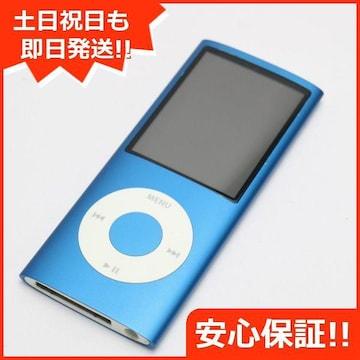 ●安心保証●美品●iPOD nano 第4世代 16GB ブルー●