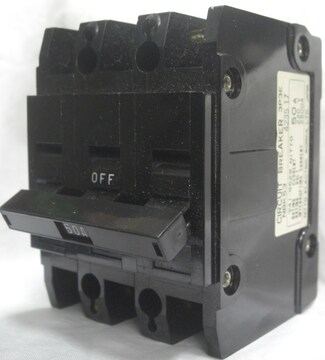 NITTO ELECTRIC/サーキットブレーカNBK53:/50A未使用0812