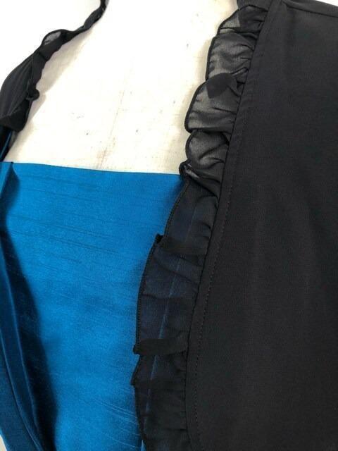 新品☆17号♪ボレロ付き♪裾フリルパーティーワンピ☆mm154 < 女性ファッションの