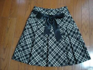 anysis エニィシィス チェックデザインスカート★最終!