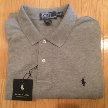 ポロ ラルフローレン ポロシャツ ラルフ Polo Ralph Lauren 美品 グレー 半袖