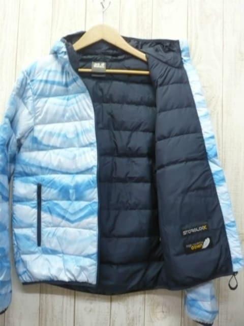 即決☆ジャックウルフスキン特価 XXLサイズ アイス ダウンジャケット 新品 3L < 男性ファッションの