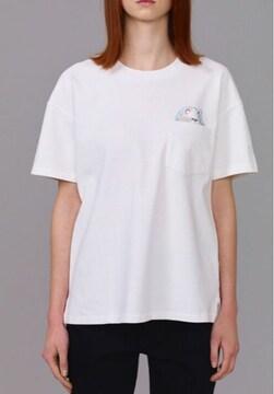 GU×キムジョーンズ・胸ポケット&ネコワッペンTシャツXL