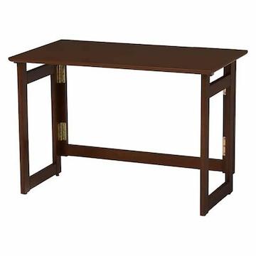折りたたみテーブル(ダークブラウン) VT-7810DBR