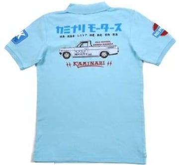 カミナリ雷/サニトラ/ポロシャツ/sax/kmps-200/エフ商会/テッドマン/カミナリモータース