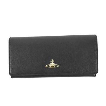 ◆新品本物◆ヴィヴィアンウエストウッド SAFFIANO 長財布(BK)51040001◆