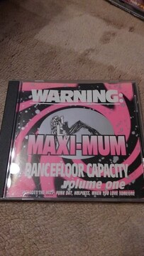 CDソフト MAXI-MUM DANCEFLOOR CAPACITY VOL.1