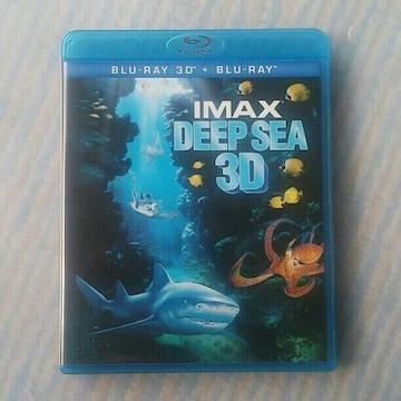 3D Blu-ray  IMAX DEEP SEA 3D&2Dブルーレイ ディープシー