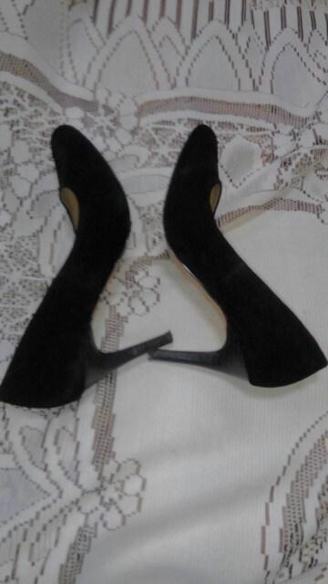 �H黒のハイヒール < 女性ファッションの