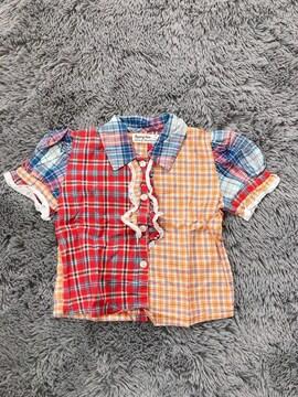 韓国子供服★半袖シャツ95