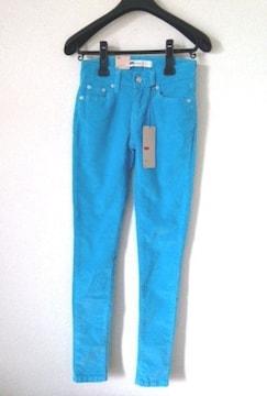 定価7350円 リーバイス◆ブルー コーデュロイ パンツ 63cm
