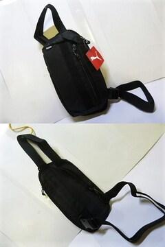 2.5L 黒)プーマ★スリングバック 076533 ショルダーバッグ 薄型軽量