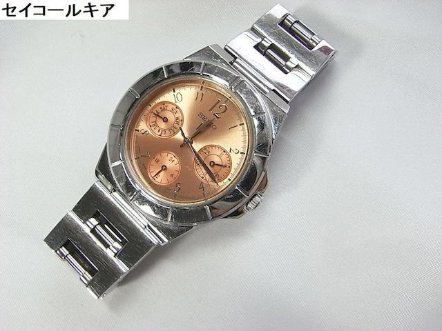 500スタ★正規セイコールキア 腕時計稼働品#訳あり