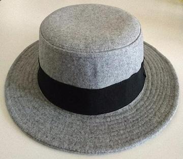 アクシーズファム★コサージュ付き カンカン帽