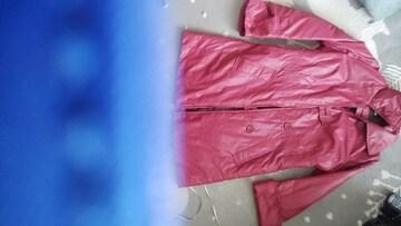 赤系コート