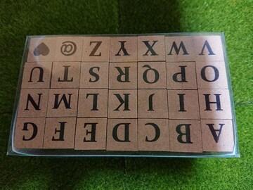 新品、アルファベットスタンプ