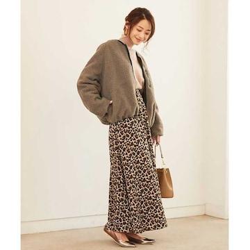 新品!titivate☆リバーシブルチェストボアブルゾン M ブラウン