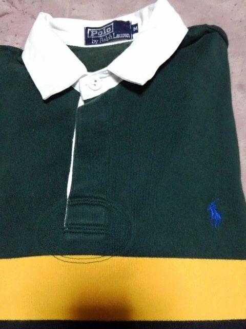 ラルフローレン ポロシャツM 濃い緑 < ブランドの
