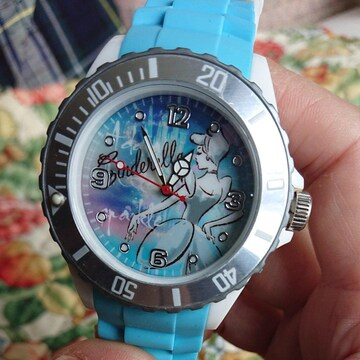 【値下げ不可】新品未使用!!Disney シンデレラ腕時計
