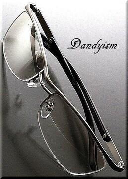 鋭くDandy〜24時間キメル/クリア系/UV400/サングラス/メンズsa10