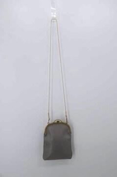 REN(レン)カウレザー がまぐちポシェット ショルダーバッグショルダーバッグ