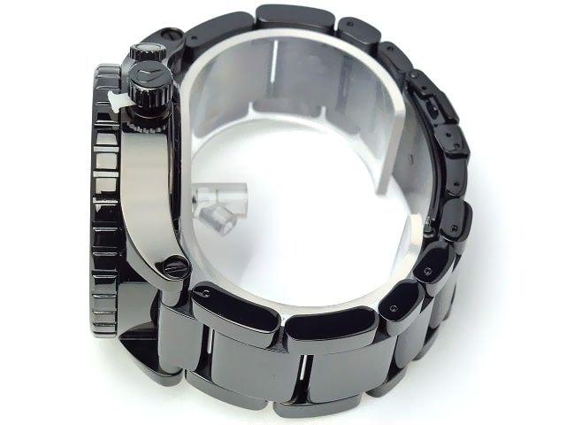 新品正規NIXON51-30ALL BLACK CRYSTAL2年保証 < ブランドの