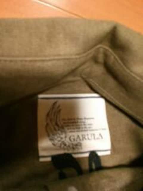 ☆GARULA☆刺繍ロゴ半袖麻シャツ☆KH☆ < ブランドの