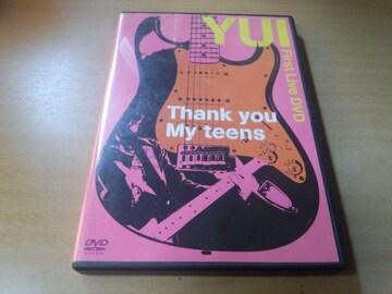 YUI DVD「Thank you My teens」●