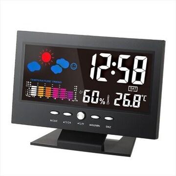 デジタル温度湿度計 LCD温度湿度計