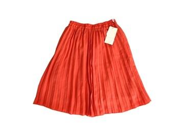 新品 定価2990円 grove グローブ  プリーツ 膝丈 スカート