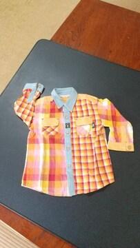 《PERSON'S KIDS》可愛いチェックシャツ