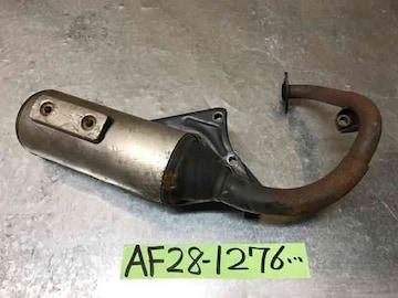 ☆ AF28 スーパーディオ ZX ジャンク マフラーAF27 SR AF18