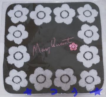 MARY QUANT マリークヮント デイジーサインロゴ タオル 010 新品
