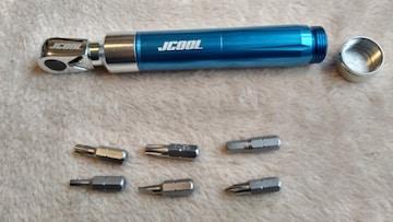 JCOOL 携帯型マルチツール ラチェット 自転車等 コンパクト