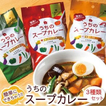 北海道産食材使用 うちのスープカレー 2人前 3種類 札幌の食卓