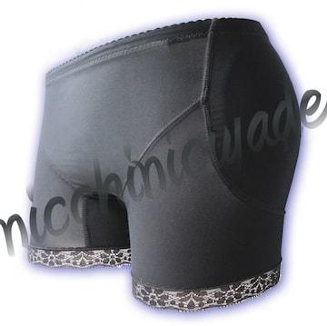 ペタンコ尻解消♪ヒップパッドショーツS★女装コスプレ性転換