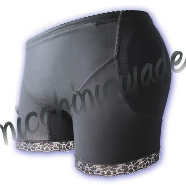 ペタンコ尻解消♪ヒップパッドショーツS★女装コスプレ性転換  < 女性ファッションの