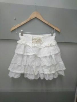 Ank Rouge☆コットン段々スカート
