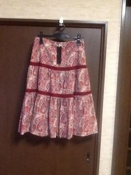 ラブパラダイス  ペイズリー柄フレアースカート
