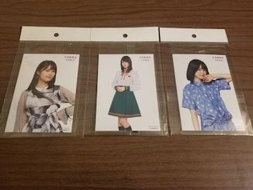 乃木坂46 生田絵梨花 セブンイレブン 写真3枚セット