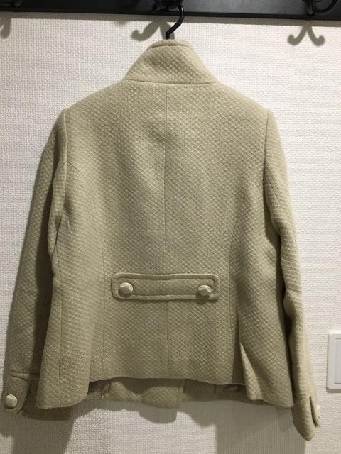 オリーブデオリーブ OLIVE des OLIVE ショート コー トベージュ アウター ジャケット < ブランドの