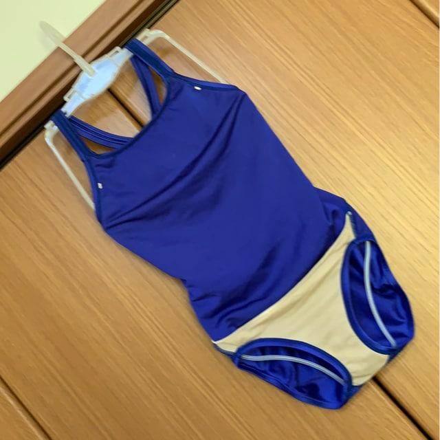 ミズノ スイミングアカデミーヤマザワ 女子練習用競泳水着 SS < レジャー/スポーツの